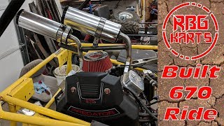 Download 670cc V - Twin Go Kart First Ride ~ Manco Deuce Build Ep.3 Video