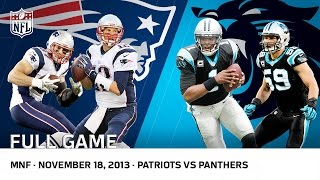 Download Cam Newton Beats Tom Brady | Patriots vs. Panthers (Week 11, 2013) | NFL Full Game Video