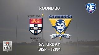 Download 2018 Round 20 - Sydney Uni v Canberra Demons Video