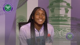 Download Coco Gauff Wimbledon 2019 Third Round Press Conference Video