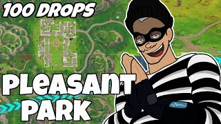 Download I Dropped Pleasant Park 100 Times and This Is What Happened (Fortnite) Video