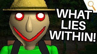 Download Baldi's DARK DESCENT into the Woods! (Baldi's Basics 2 - Camping Theory) Video
