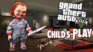 Download GTA 5 Mods - CHUCKY ″KILLER DOLL″ MOD! (GTA 5 Mods Gameplay) Video