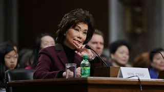 Download Elaine Chao has fairly easy confirmation hearing Video