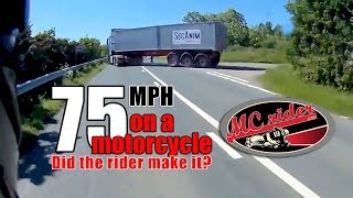 Download WOW! At this frame he was going 75 MPH! Video