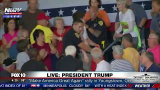 Download ″GOING BACK HOME TO MOMMY″ Young Protester Put Into Place By Secret Service Video