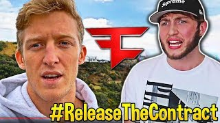Download Streamers React To Tfue Response to Banks & FaZe Clan! #ReleaseTheContract Video