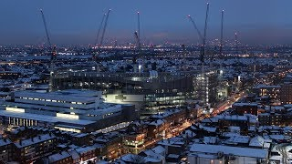 Download New Spurs Stadium HD Time Lapse - 10th to 16th December 2017 Video