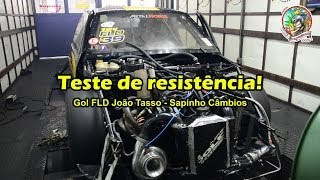 Download Gol turbo 1.000 hp FLD João Tasso - Teste de Resistência - Dinamômetro Video