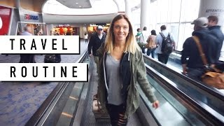 Download Travel Routine //Airplane Essentials: Carry On, Makeup + Outfit Video
