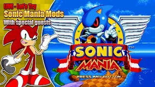 Download Let's Try Sonic Mania Mods (Live Stream 27th September '17 8pm BST) Video