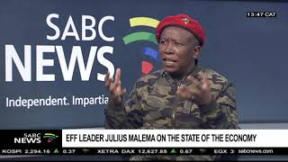 Download Julius Malema on the state of the economy, land, Mazotti Video