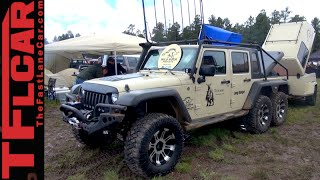 Download Six-Wheel-Drive Jeep Wrangler: When a Rubicon is just not Tough Enough Video