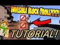 Download How to make INVISIBLE BLOCKS in Hypixel Skywars Glitch (Not patched!) (Tutorial) Video