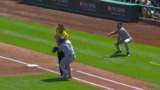 Download MIL@PIT: Counsell gets ejected arguing a strange play Video