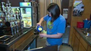 Download CNN: Law school graduate works in coffee shop Video