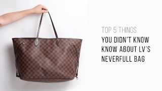 Download Top 5 things you didn't know about LV's Neverfull bag Video