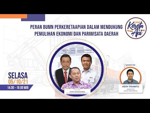 Jelajah KAI - Peran BUMN Perkeretaapian dalam Mendukung Pemulihan Ekonomi dan Pariwisata Daerah