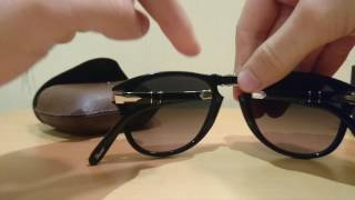 Download Persol 714-SM 95/71 Steve McQueen Special Edition Sunglasses Review Video