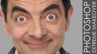 Download Photoshop Extreme Makeover - #42 Mr Bean ″Rowan Atkinson″ Video