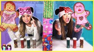 Download Twin Telepathy Christmas Gingerbread Cookie Challenge!!! Video