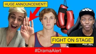 Download Logan Paul & KSI PRESS CONFERENCE! #DramaAlert PewDiePie TROLLS Journalist! Ninja HUGE Announcement! Video
