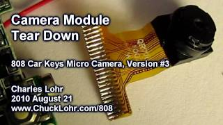 Download Tear Down, Camera Module, #3 808 Car Keys Micro Camera Video