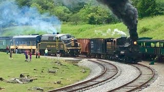 Download The Great Train Race! Steam Vs Diesel! Video
