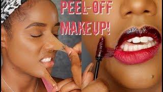 Download PEEL OFF MAKEUP & LIPGLOSS TINT TATTOO   Ellarie Video
