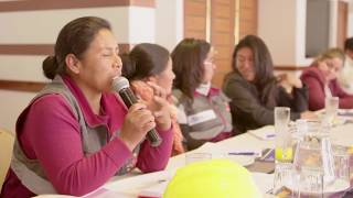 Download Empowering Indigenous Women in Bolivia's Construction Sector Video