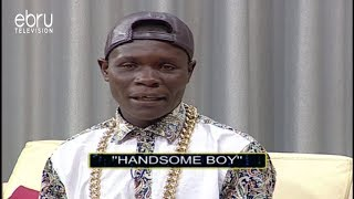 Download Meet Kenya's Handsome Man Who is Giving Ladies Sleepless Nights on Chipukeezy Show Video