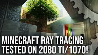 Download Minecraft Ray Tracing Live Play: A Path Traced Showcase? Video