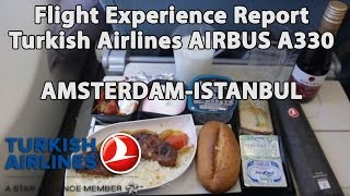 Download Trip Report : Turkish Airlines | Airbus 330 | Amsterdam to Istanbul | AMS-IST | TK1952 Video