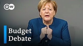 Download Angela Merkels first parliament speech since announcing her future | DW News Video