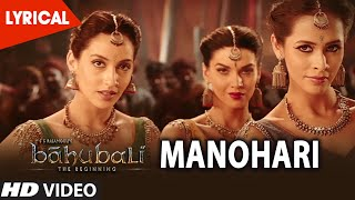 Download Manohari Lyrical Video Song || Baahubali (Telugu) || Prabhas, Rana, Anushka, Tamannaah, Bahubali Video