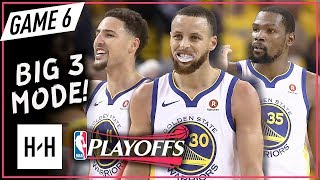 Download Warriors BIG 3 Full Game 6 Highlights vs Rockets (2018 Playoffs WCF) - Stephen Curry, Durant & Klay! Video