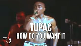 Download Tupac - How Do You Want It (Live at the House of Blues) Video