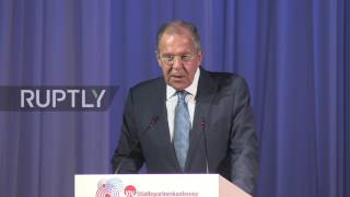 Download Russia: Lavrov stresses need for 'equality' at heart of German-Russian relations Video