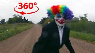 Download 360 Creepy Clown | VR Horror Experience Video