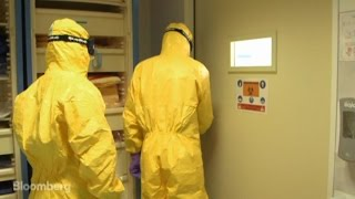 Download Inside a High-Security Ebola Isolation Chamber Video