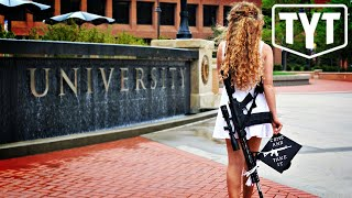 Download Gun Nut Marches Around College Campus With Assault Rifle Video