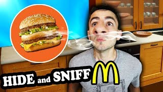 Download Mcdonalds Hide and SNIFF Challenge! (Where is the BIG MAC?) Video