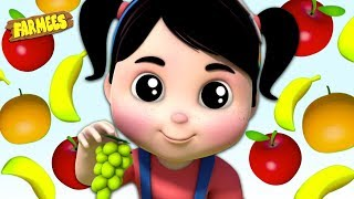 Download Fruit Names & Colors For Kids | Nursery Rhymes & Cartoon Videos For Children Video