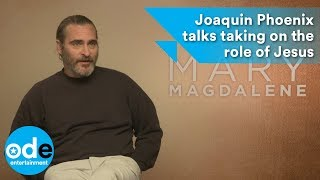 Download Mary Magdalene: Joaquin Phoenix talks taking on the role of Jesus Video