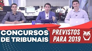 Download Concursos de Tribunais Previstos 2019 Video