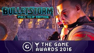 Download Bulletstorm Full Clip Edition - Announcement Trailer | The Game Awards 2016 Video