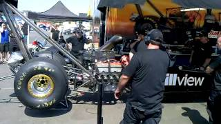 Download Top Fuel warm up and idle. Loud one! Video