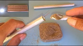 Download 5.3V Aluminum battery , cool idea 2017, science school project for learnning Video