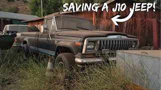 Download Pulling A Rare Jeep From The Weeds! Video