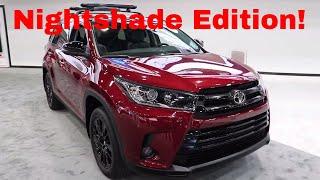 Download 2019 Toyota Highlander Nightshade Video